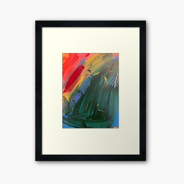 Rainbow junk mail  Framed Art Print