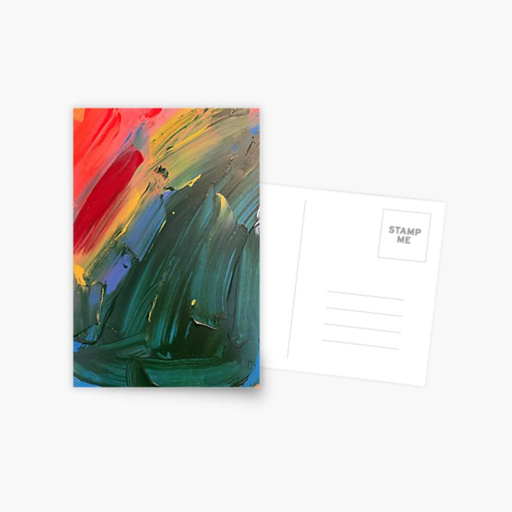 Rainbow junk mail  Postcard