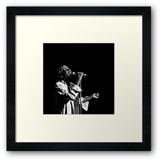 Jimmy Cliff (B&W) by Mojca Savicki