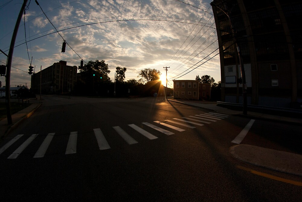 Washington Street Sunrise by Sphotography
