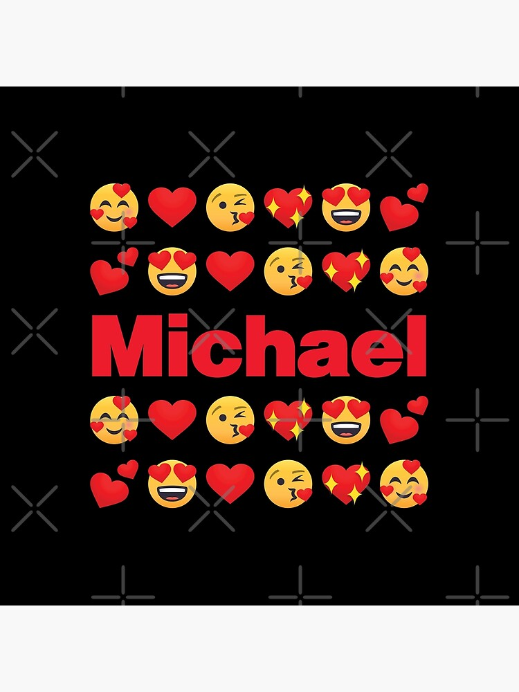 Michael Emoji My Love for Valentines day by el-patron