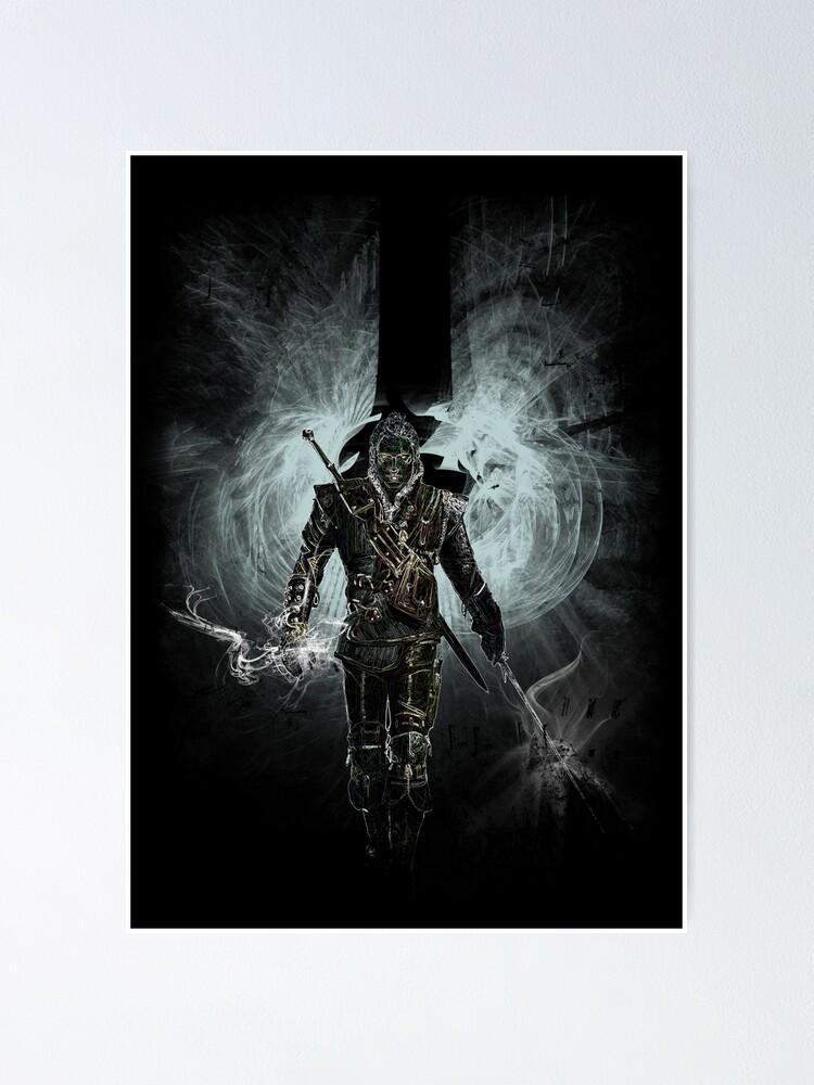 Alternate view of awakening witcher Poster