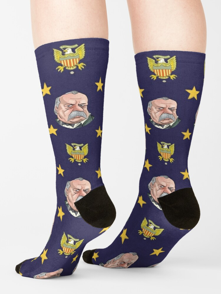 Alternate view of President Grover Cleveland Socks