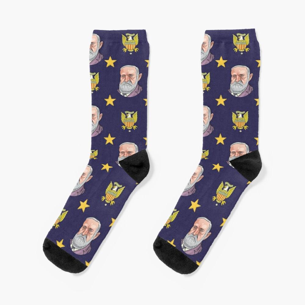 President Benjamin Harrison Socks