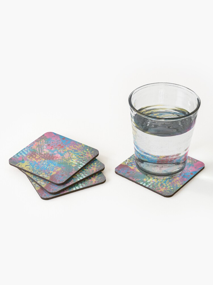Alternate view of Walking into 2020, like I own it Coasters (Set of 4)
