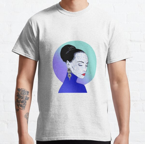 Wendy, the woman with a polygonal face - Vecteezy.com Classic T-Shirt