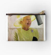 Portrait of Queen Elizabeth II Studio Pouch
