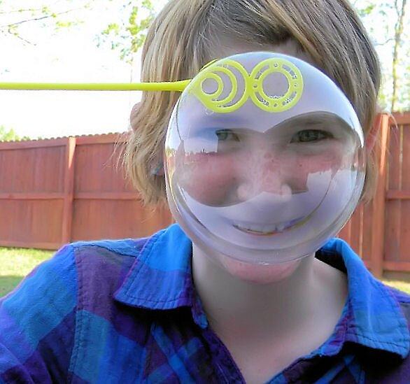 Bubble Face by rosaliemcm