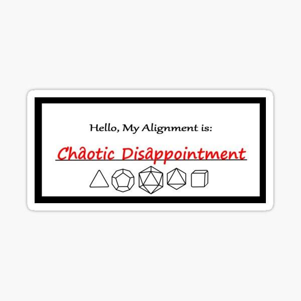 Alignment CD Sticker