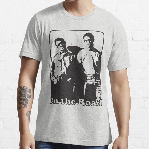 Jack Kerouac en el camino Camiseta esencial