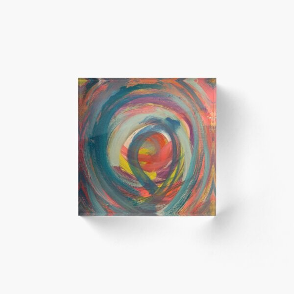 Running in Circles   Acrylic Block
