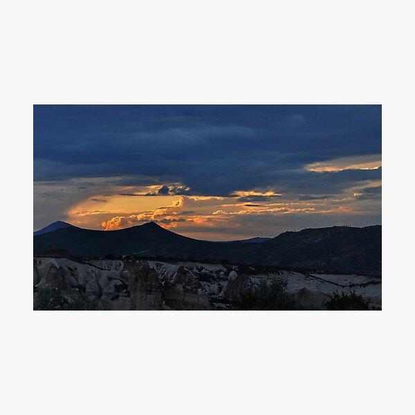 Sunset in Cappadocia #2 Photographic Print