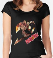 Natsu Dragneel  Women's Fitted Scoop T-Shirt