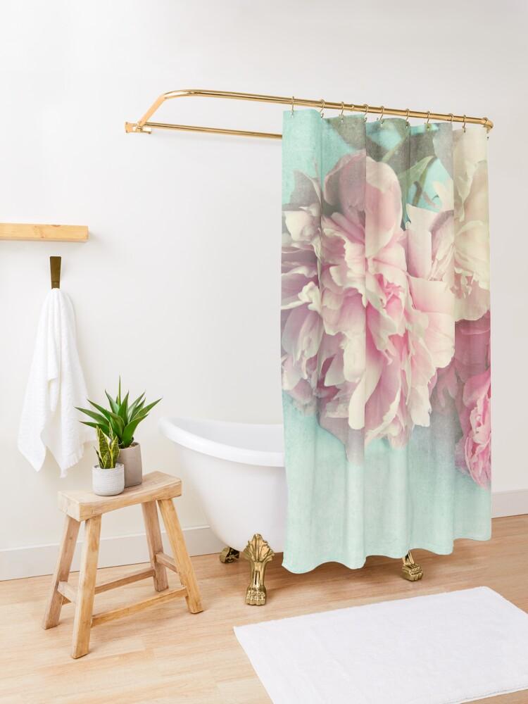 Alternate view of Like Yesterday Shower Curtain