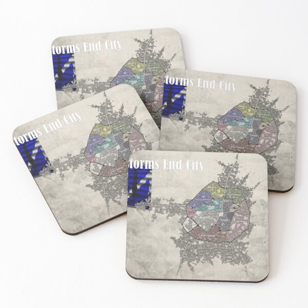 Storms End City Coasters (Set of 4)