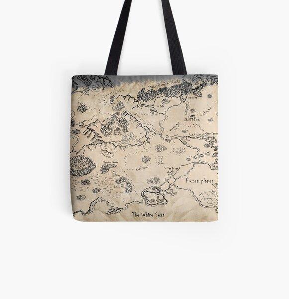 South East Plestoria All Over Print Tote Bag