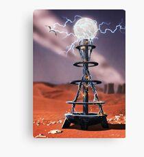 Tesla Coil Canvas Print