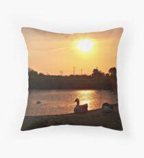 Restful Shores Throw Pillow
