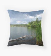 Lynx Lake in Prescott, AZ Throw Pillow