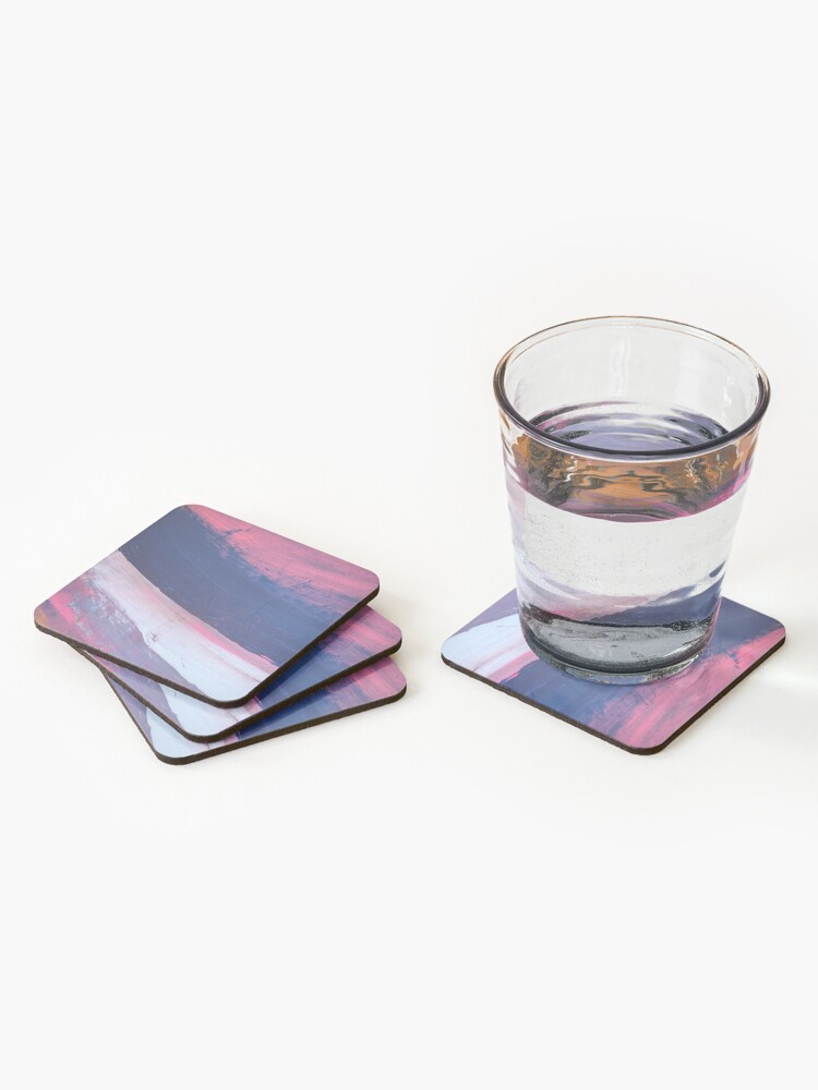 Alternate view of Two Parts of Me Coasters (Set of 4)