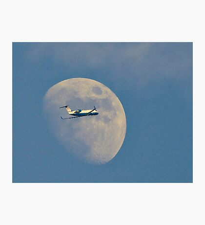 Moon Approach Photographic Print