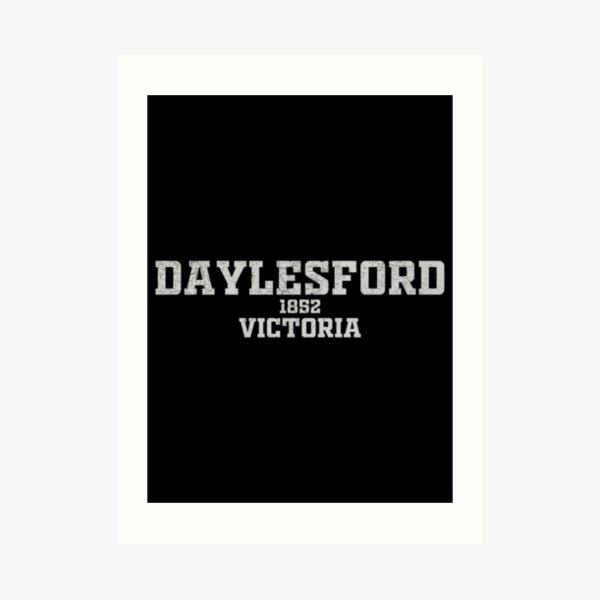 Daylesford Victoria Art Print