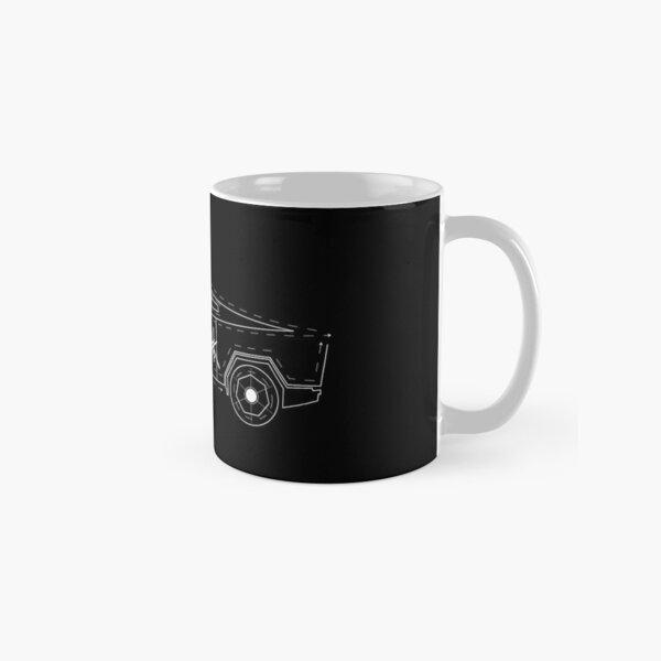 Tesla Cybertruck 3 (Blueprint) Classic Mug