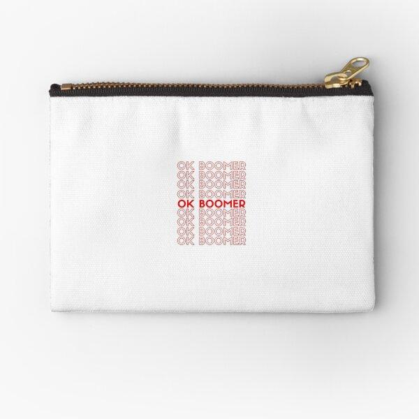 Ok Boomer Sticker Zipper Pouch