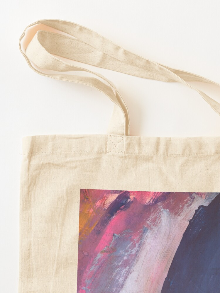 Alternate view of Two Parts of Me Tote Bag