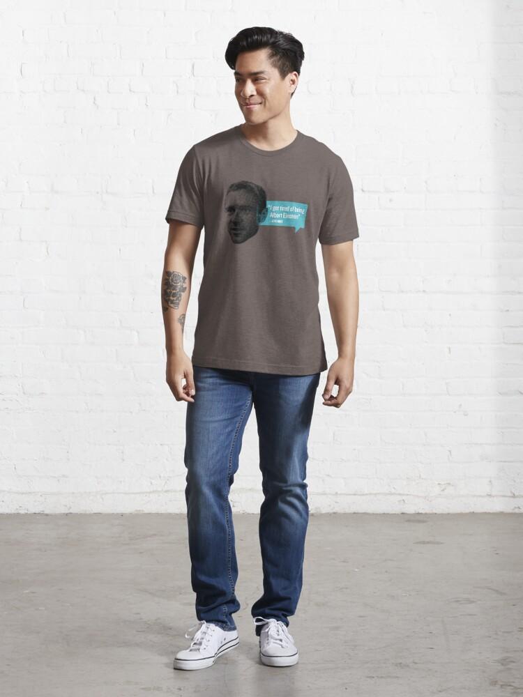 Alternate view of Jens Voigt - Einstein Essential T-Shirt