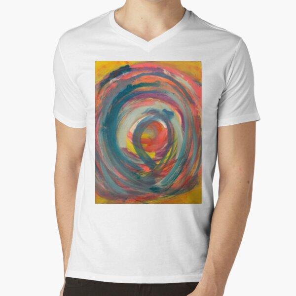 Running in Circles   V-Neck T-Shirt