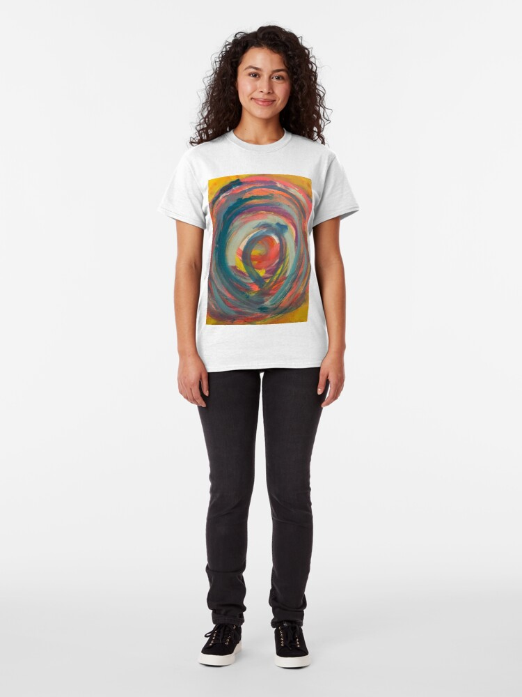 Alternate view of Running in Circles   Classic T-Shirt