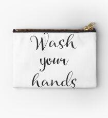 Wash tour hands Studio Pouch