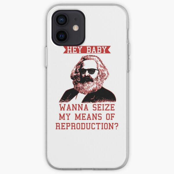 Wanna seize my means of reproduction? iPhone Soft Case