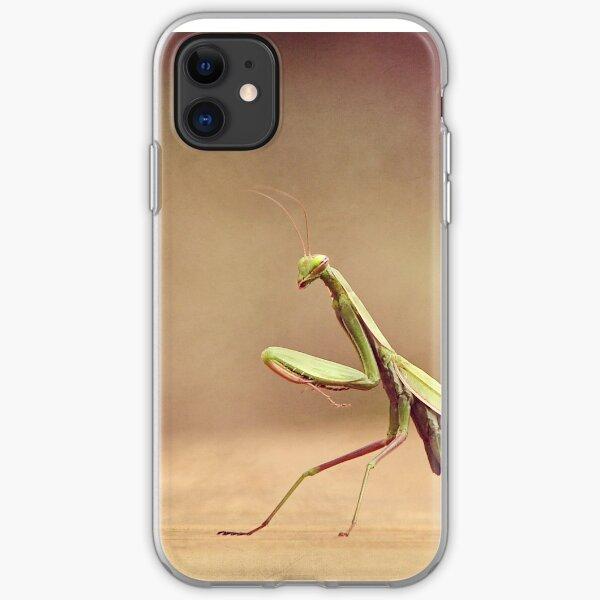 Praying Mantis - Queen of the Garden iPhone Soft Case