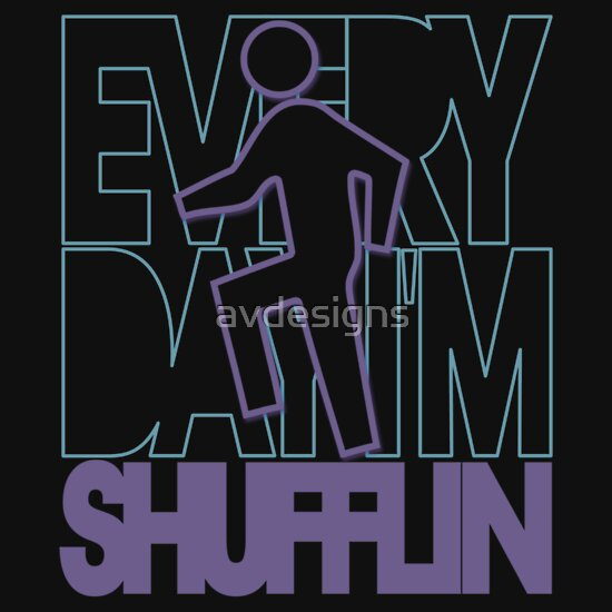 TShirtGifter presents: Shufflin' Blue / Purple