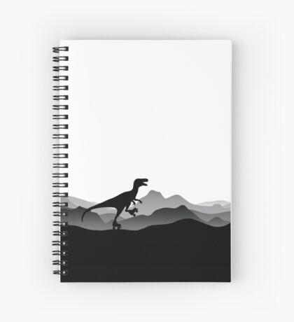 DINO ROLLER SKATES - Dino Collection Spiral Notebook