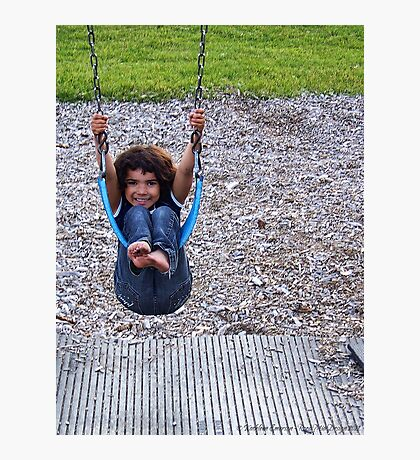 Swinging Photographic Print