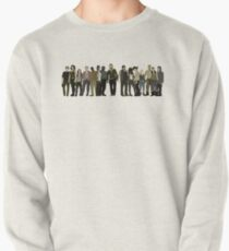 The Walking Dead Cast Pullover