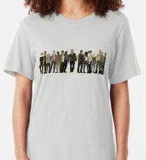 The Walking Dead Cast Slim Fit T-Shirt