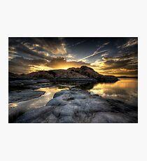 Rockclipse Photographic Print