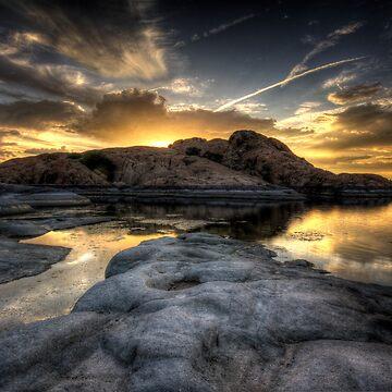 Rockclipse by boblarsonphoto