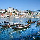 Oporto from Vila Nova Gaia by Brian Tarr