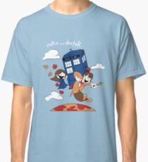 Clara and Doctor Classic T-Shirt