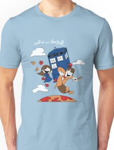 Clara and Doctor Unisex T-Shirt