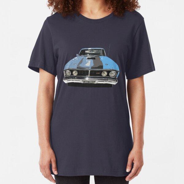 BIG FIT FORD  XB   GS  UTE  QUALITY BLACK T-SHIRT 6 CAR COLOURS