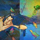 Slumber in Bird's Paradise by emxacloud