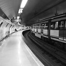 Metro lights on Madrid by Marta Rizzato