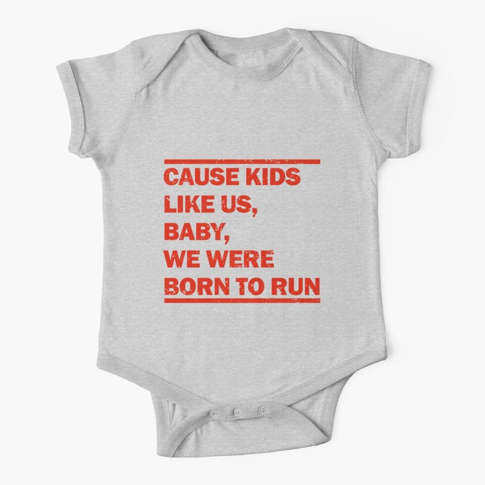 Born to Run Baby One-Piece