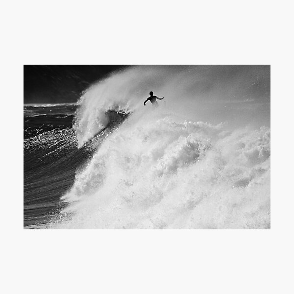 Big Surf at Dee Why Photographic Print